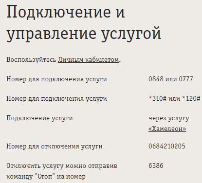 Как отключить услугу «Уроки русского» на Билайне?