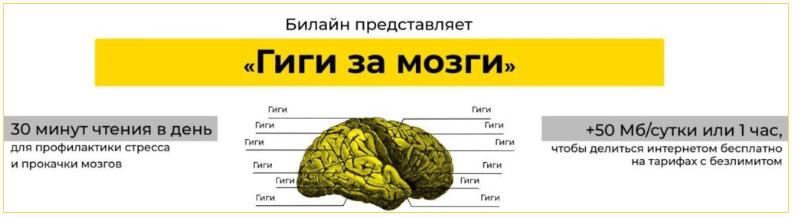 Акция «Гиги за мозги» от Билайн